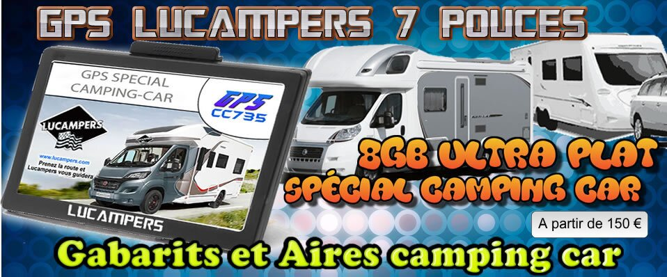 lucampers sp cialiste gps camping car meilleur gps cc735. Black Bedroom Furniture Sets. Home Design Ideas