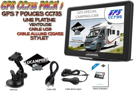 GPS CC735 CAMPING-CAR LUCAMPERS PACK 1
