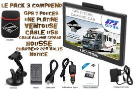 GPS CC735 CAMPING-CAR LUCAMPERS PACK 3